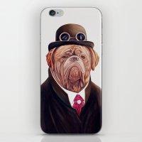 Dogue de Bordeaux iPhone & iPod Skin