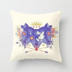 The Gatekeeper Throw Pillow