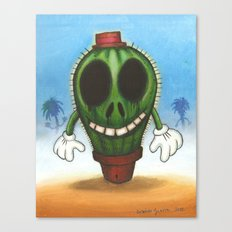 Cactus in freedom Canvas Print