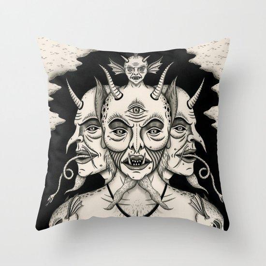Weeping Demon Throw Pillow