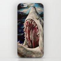 Mako Shark of Dark Waters iPhone & iPod Skin
