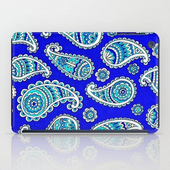 Blue Paisley iPad Case