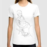 Momi Womens Fitted Tee White SMALL