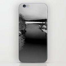Then There is Cold... in Black and White iPhone & iPod Skin