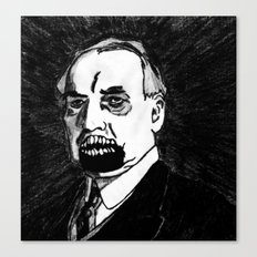 29. Zombie Warren G. Harding  Canvas Print
