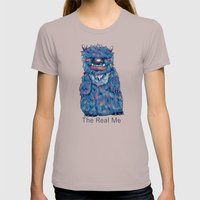 Snervult Womens Fitted Tee Cinder SMALL