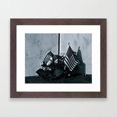 Left Behind @ Shanksville Framed Art Print