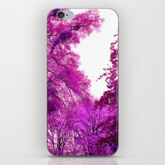 purple trees II iPhone & iPod Skin
