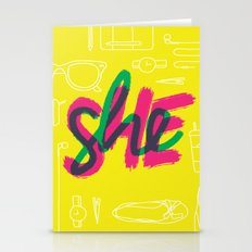 SHE [I] Stationery Cards