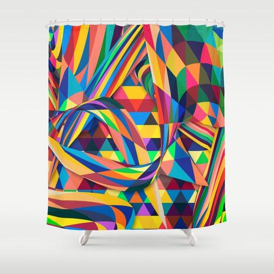 The Optimist Shower Curtain