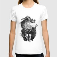 dragon T-shirts featuring Dragon by Jonathan Keuchkarian
