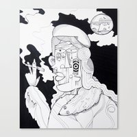 Rich Woman 2 Canvas Print