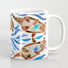 Five Otters – Blue Palette Mug