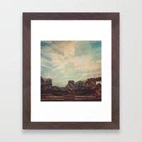 Fractions A15 Framed Art Print