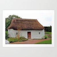 Nant Wallter Cottage. Wa… Art Print