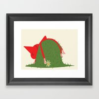 COUNTRYSIDE MOOD Framed Art Print