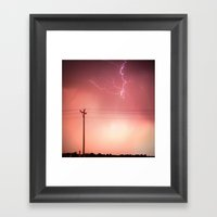 Spiraled Framed Art Print