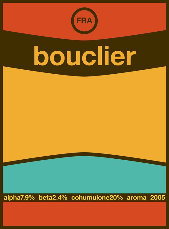 bouclier single hop Art Print