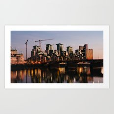 Vauxhall Twilight Art Print