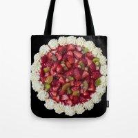 Strawberry Cheesecake  Tote Bag