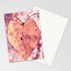 You've Got My Heart On A String Stationery Cards