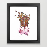 The Butterfly Project Framed Art Print