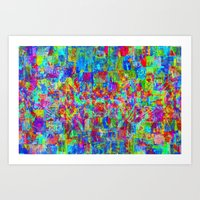 Sorting time as a remainder of balance moments. 02 Art Print