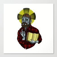 The Saint Canvas Print