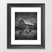 The Death Of A Small Mid… Framed Art Print