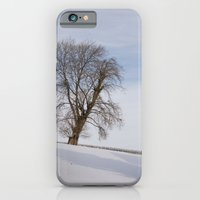 iPhone & iPod Case featuring In white by MoreOrLens