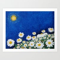 We are Daisies Art Print