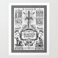 Legend Of Zelda Vintage … Art Print