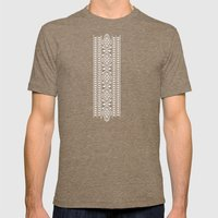 NDOTO AFRIKA 4 Mens Fitted Tee Tri-Coffee SMALL