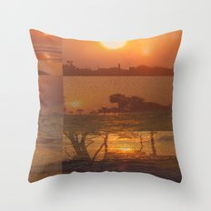 Follow the Sunshine Throw Pillow