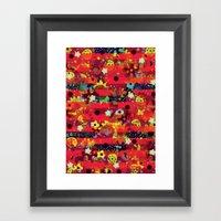 Tales Of The Hidden Flowers Framed Art Print