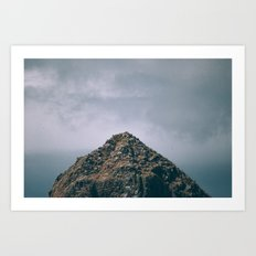 We'll never make it to the top Art Print