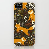 iPhone 5s & iPhone 5 Cases featuring Fox Tales by Anna Deegan
