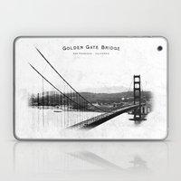 Golden Gate Bridge - San Francisco Laptop & iPad Skin
