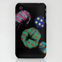 iPhone Cases featuring Dark Flowers  by Karol Gadzala