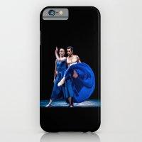 Blue dance iPhone 6 Slim Case