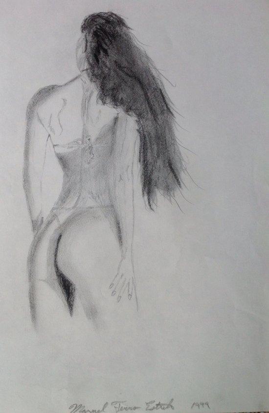 Fitness Girl Art Print