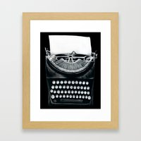 These Books Must Be Destroyed! Framed Art Print