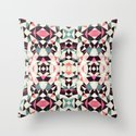 Retro Light Tribal Throw Pillow