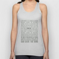 The Riot Act Unisex Tank Top
