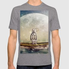 Navigator Mens Fitted Tee Tri-Grey SMALL