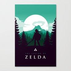 The Legend of Zelda - Green Version Canvas Print