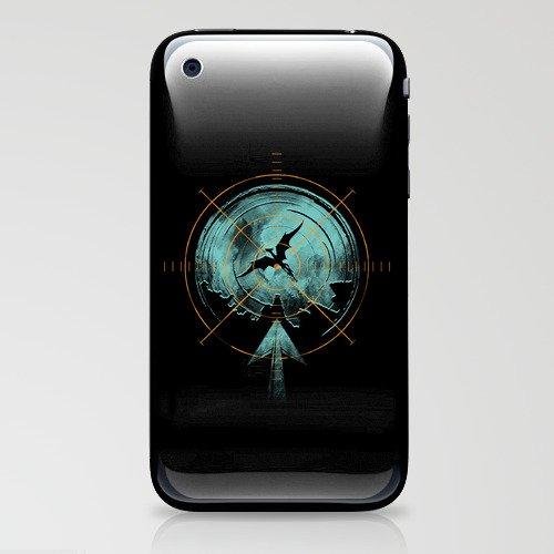 the last predator iPhone & iPod Skin