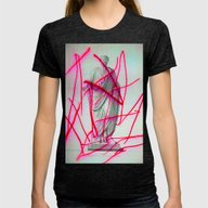 Strike 19 Womens Fitted Tee Tri-Black SMALL