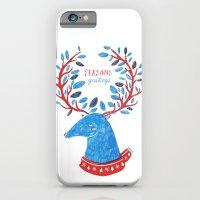 Reindeer Seasons Greetings iPhone 6 Slim Case