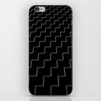 ZigZags Dark iPhone & iPod Skin